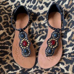Nine West Beaded Sandals